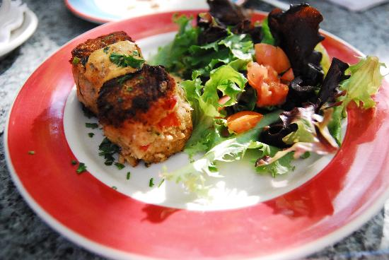 Old Town Mexican Cafe : Crab Cake