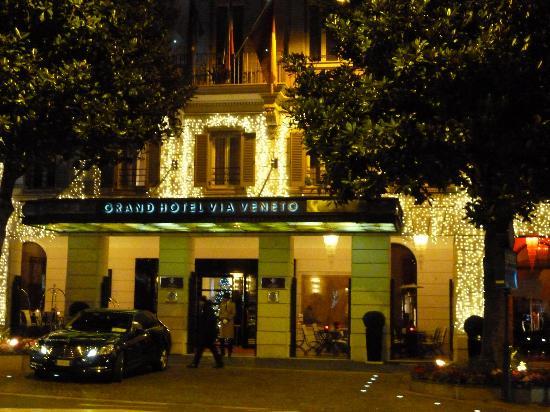 外観 Picture Of Grand Hotel Via Veneto Rome Tripadvisor