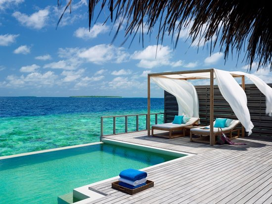 Dusit Thani Maldives: Ocean Villa with pool