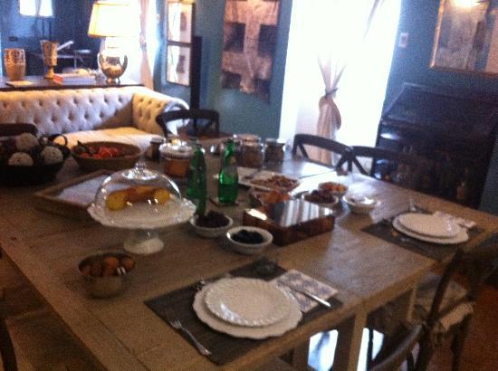 Hotel Villa Linneo: colazione