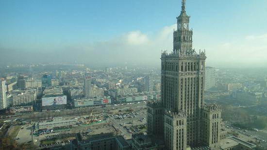 InterContinental Hotel Warsaw: Great outdoor view