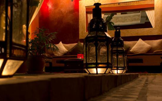 Riad Aguaviva: Eingangsbereich