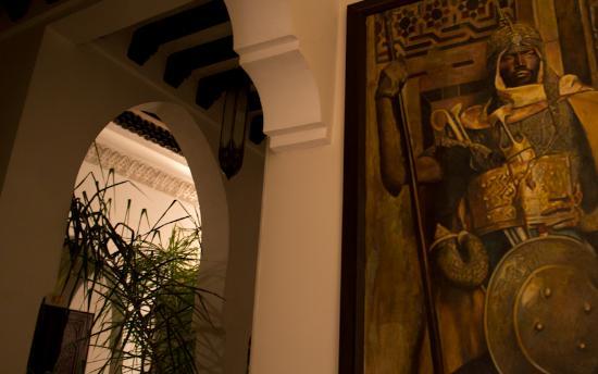 Riad Aguaviva: 1. Etage