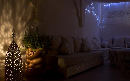 Riad Aguaviva: Relax-Zone auf der Dachterasse