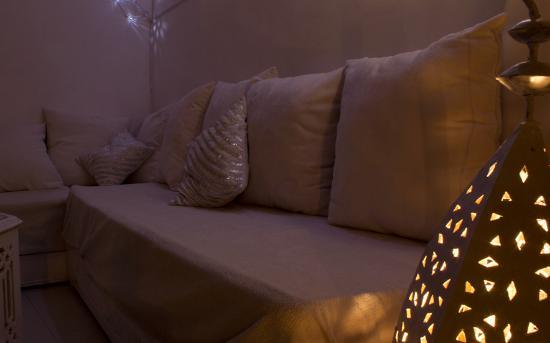 Riad Aguaviva : Relax-Zone auf der Dachterasse