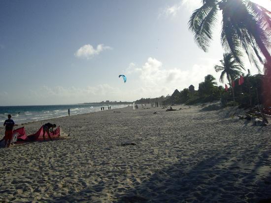 Residence Kohunlich: playa paraiso