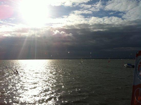 Baltic Coast, Polen: Blick auf die Bucht Gdansk