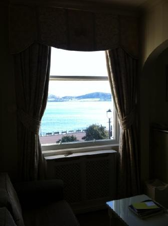 St. Tudno Hotel: View from the Rhoda