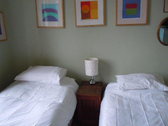 Fitz Guest House and Cafe: Twin guest room