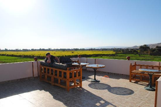 New Memnon Hotel: The roof
