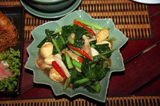 Thai Lagoon Restaurant: mixed vegetables