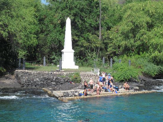 Captain Cook Monument Hawaii Big Island