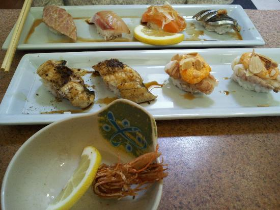 Sushi Sam's Edomata: Omakase (bad photo, in reality it looks much more appetising)