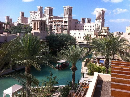Jumeirah Dar Al Masyaf at Madinat Jumeirah : View from our balcony