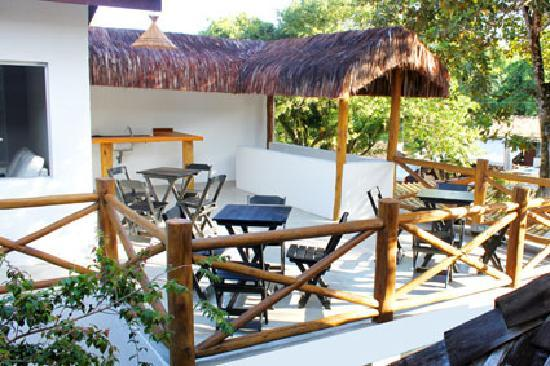 MOx Hostel Arraial d'Ajuda: Lounge