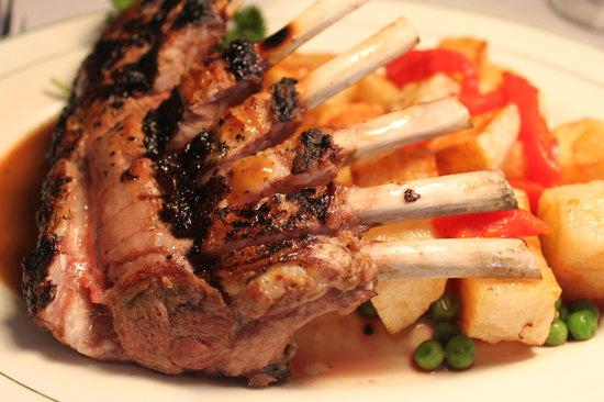 Meson Iberia Restaurant: Rack of Lamb