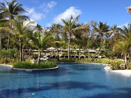 The St. Regis Bahia Beach Resort, Puerto Rico: wonderful large pool areas