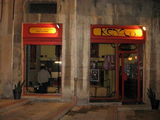 Kenavo: The exterior.