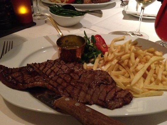 Chez Mal: Rump Steak with Frites