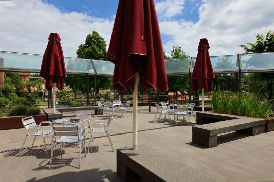 Hotel La Perla: terrassa