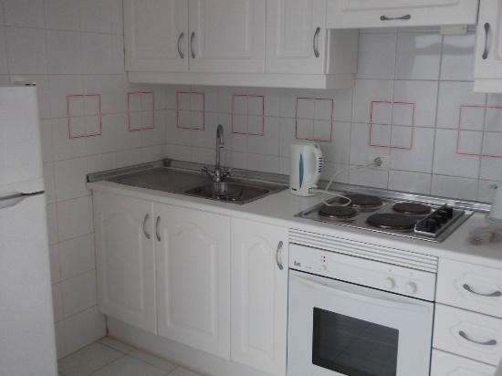 Island Village Apartments: Kitchen - Room 128B
