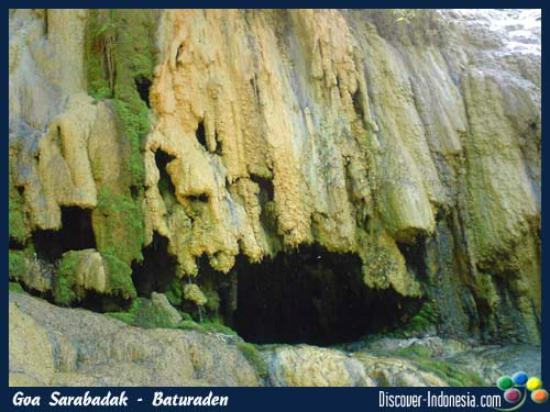 Baturaden, Indonesien: goa badak