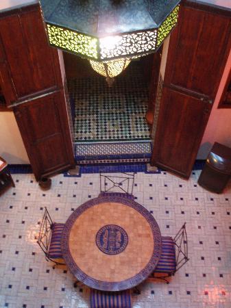 Dar El Hana: Dining area