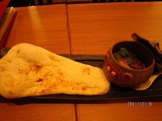 Ban: 彩り野菜のタヌキーマカレー ¥580