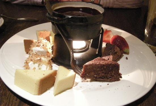KC Prime: Chocolate Fondue