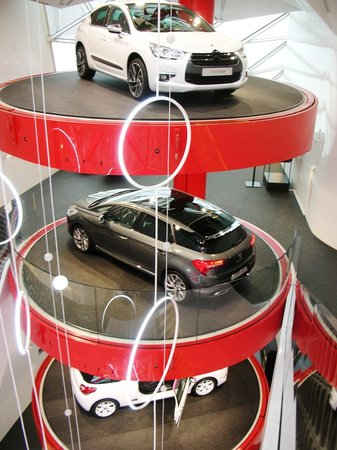 Citroen Champs-Elysees Showroom