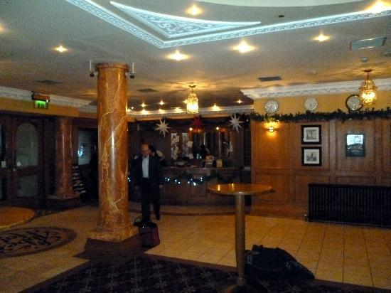 The Abbey Hotel: The foyer & reception
