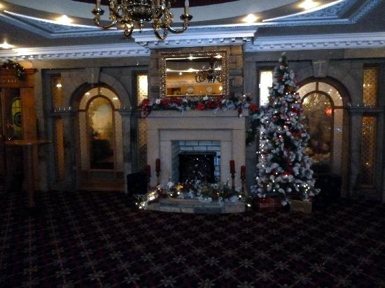 The Abbey Hotel: The foyer