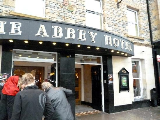 The Abbey Hotel: Entrance of hotel