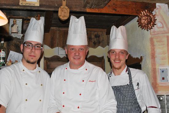 Hotel Sonnenhof - St Vigil in Enneberg, Dolomiten: Il trittico di chef