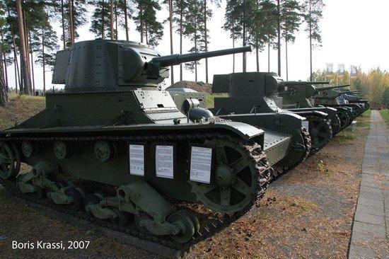 Parola Tank Museum