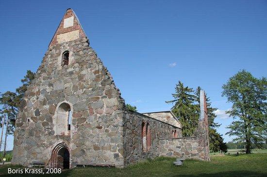 Palkane, Finland: Church of St. Michael, 15th century