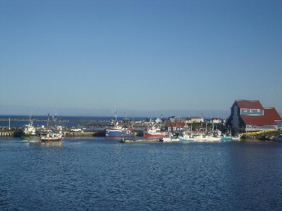 The Harbour Quarters Inn: View from Harbour Quarters