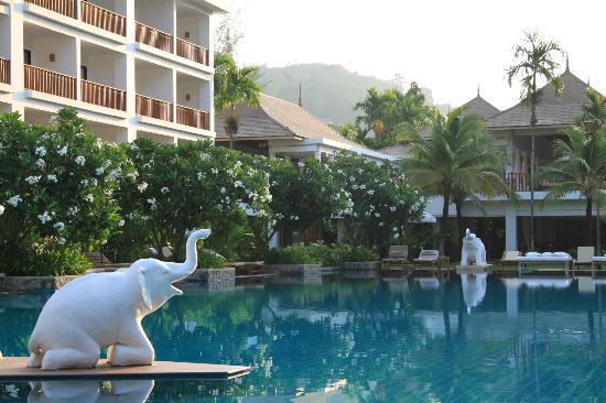 ในทอนบุรี บีช รีสอร์ท: Swimming pool