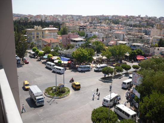 ‪‪Dabaklar Hotel‬: from oure room-bus station‬