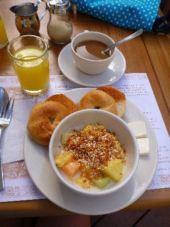 Hotel Posada Sian Ka'an: the complimentary breakfast