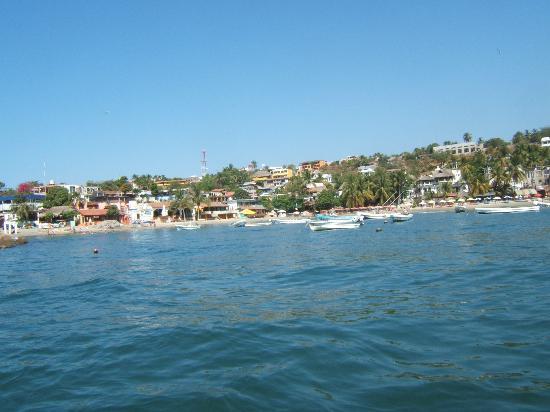 Posada Real Puerto Escondido: coming back to town from fishing