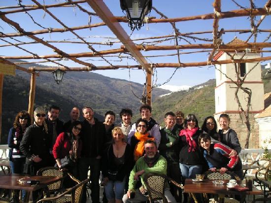 Ruta del Mulhacen: Grupo visitante