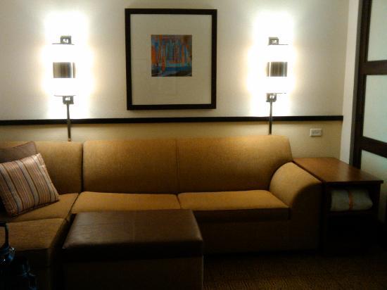 Hyatt Place Santa Fe: couch