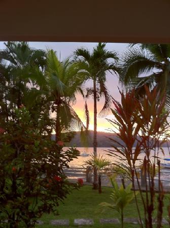 Hotel Las Gaviotas: sunset