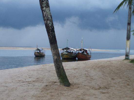 Pousada Santa Clara: Vista desde la playa
