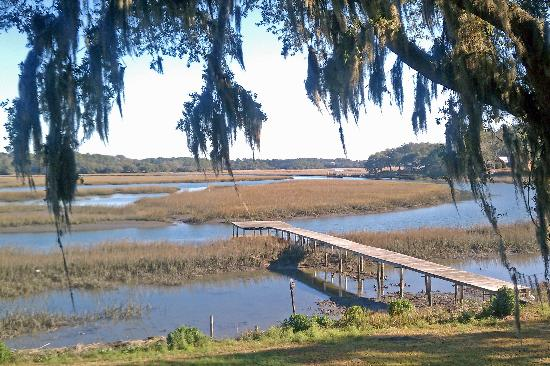 Great Gardens Cafe: From the Deck:  A Lowcountry Delight