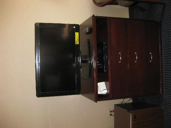 Comfort Inn of Princeton: The TV
