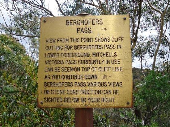Berghofer's Pass