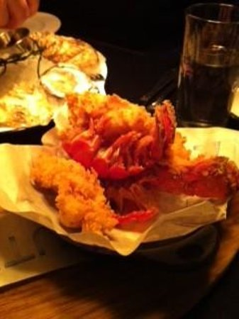 Route 6: Steak fried lobster