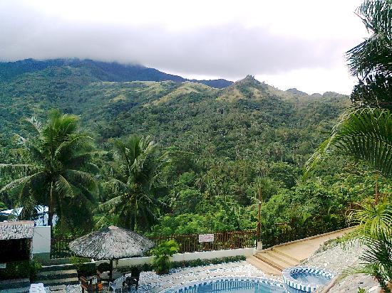 Tribal Hills Mountain Resort: view from terrace